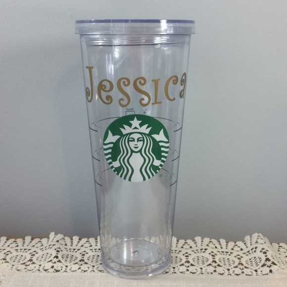 Starbucks Other - Personalized Starbucks Plastic Tumbler, Jessica